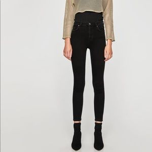 Zara Jeggings Black Size 10